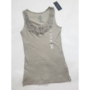 Tommy Hilfiger Gray Tank Top